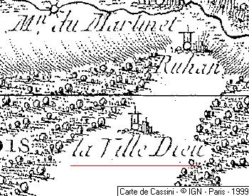 Domaine du Temple de Villedieu-les-Quenoche