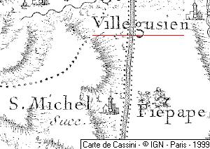 Domaine du Temple de Villegusien