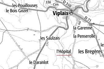 Domaine du Temple à Virplaix