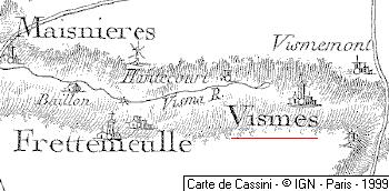 Domaine du Temple de Vismes