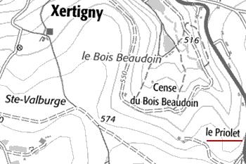 Henri Lapage et Charles Charton. Le département des Vosges: statistique historique et administrative, page 552. Nancy 1845