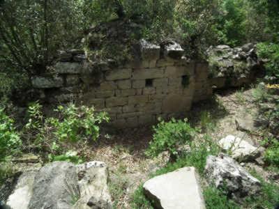Vestiges de l'ancienne chapelle