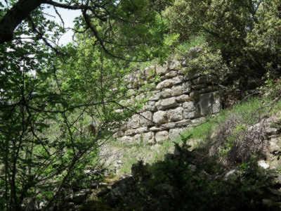 Vestiges de la muraille