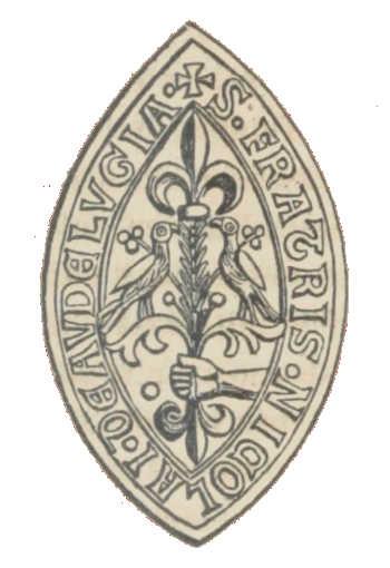 Sceau du Frère Nicolas, doyen au Déluge