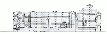 Epinat, mur sud