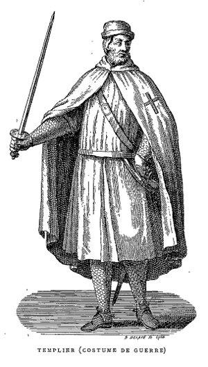 Costume de Guerre des Templiers