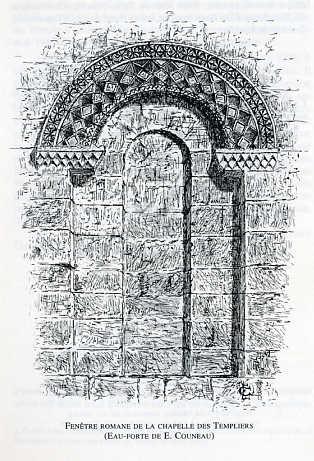 Plan des environs du Temple de La Rochelle
