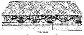 Tombeau roman du XIIe siècle