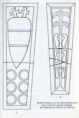 Pierres tombales du XIIe siècle