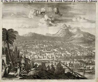 Damascus de Dapper en 1677