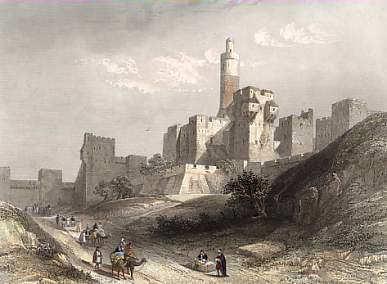 Jérusalem tour de David