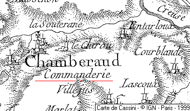 Domaine du Temple de Chamberaud