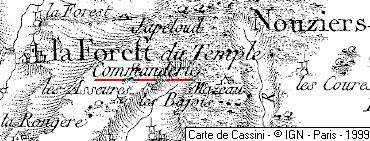 Domaine du Temple La Foret-du-Temple