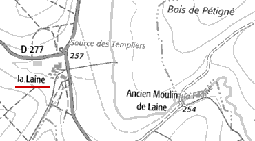 Domaine du Temple La Laine