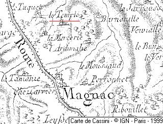 Temple de Magnac-le-Bourg