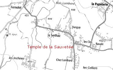 Domaine du Temple de la Sauveté
