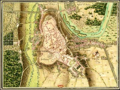 Plan d'Angouleme Breme