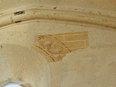 Fresques chapelle d'Avalleur image Jack Bocar