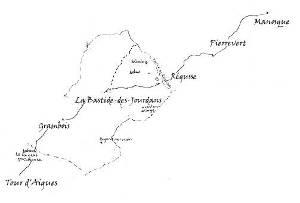 Route de la Bastides-des-Jourdans