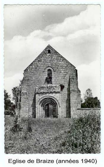 Eglise de Braize