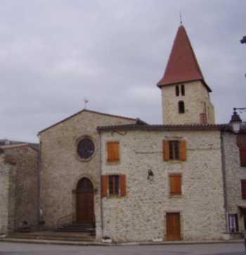 église Saint-Sébastien à Campagne-sur-Aude