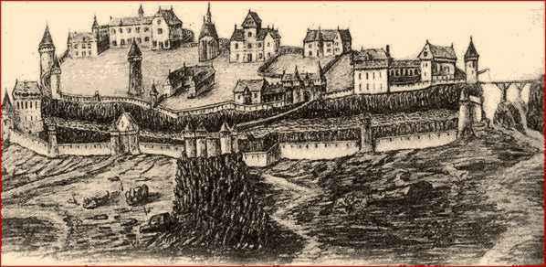 Village forteresse de Carlat