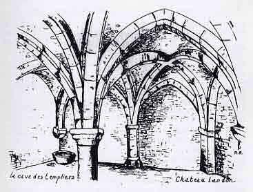 Chapelle souterraine de Château-Landon