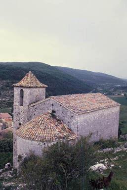 Comps, Chapelle Saint-André ou Sainte-Philomène