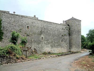 La Couvertoirade Les Murailles