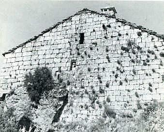La Couvertoirade Côté Est du château