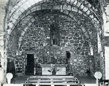 La Couvertoirade Cœur de l'église