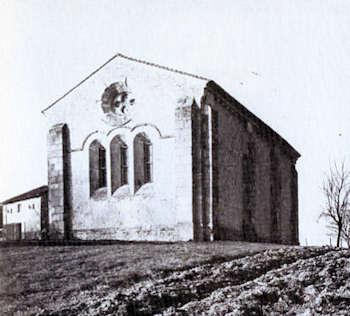 Cressac, Chevet mur nord