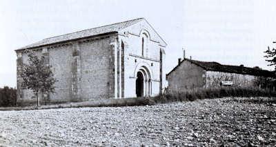 Cressac, facade occidentale - Image M. Miguet