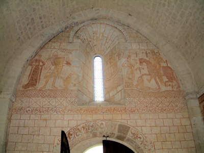 Cressac, Fresques intérieures