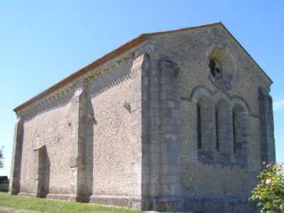 chapelle des Templiers de Cressac