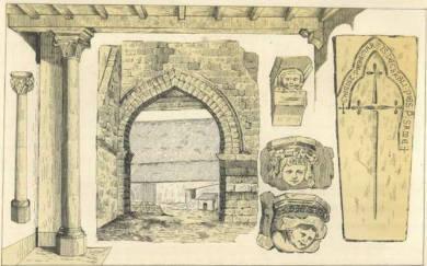 Détails tour des Templiers de Haute-Avesnes