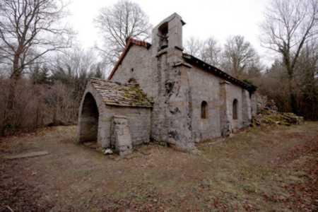 Chapelle médiévale de Dramelay