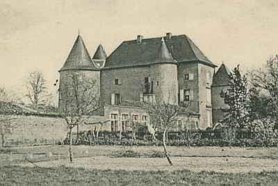 Commanderie d'Ensigné en 1904