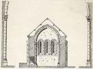 Chapelle romane d'Ensigné