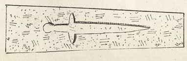 Vestige d'une pierre tombale d'un chevalier Templiers
