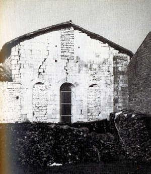 Chevet de la chapelle