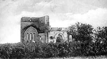 Ruines de la chapelle de Galgon