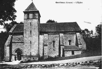 Chapelle templière de Gentioux