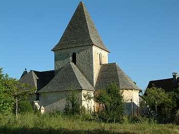 église du prieuré, image Jack Bocar
