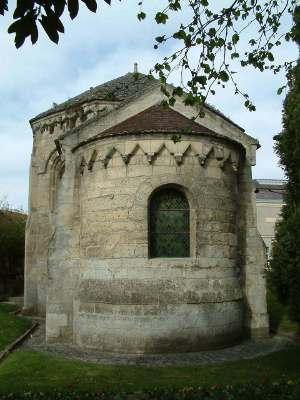 Laon chapelle templière abside