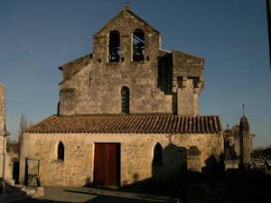 Chapelle de Marcenais, image Jack Bocar