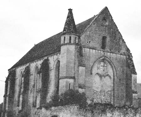 Moisy-le-Temple, Grosse tour et la chapelle