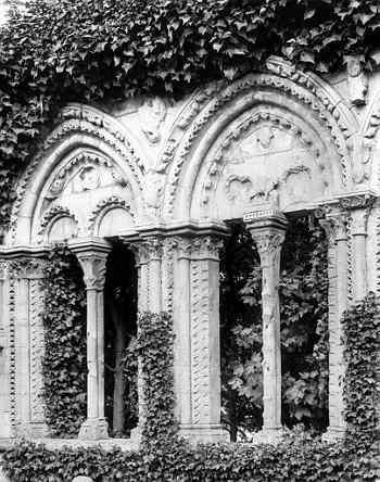 Façade de la maison des Templiers