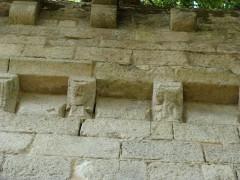 Modillons du portail nord