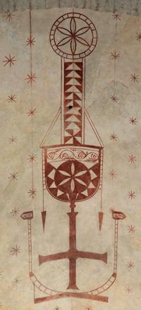 Peinture église de Montsaunès